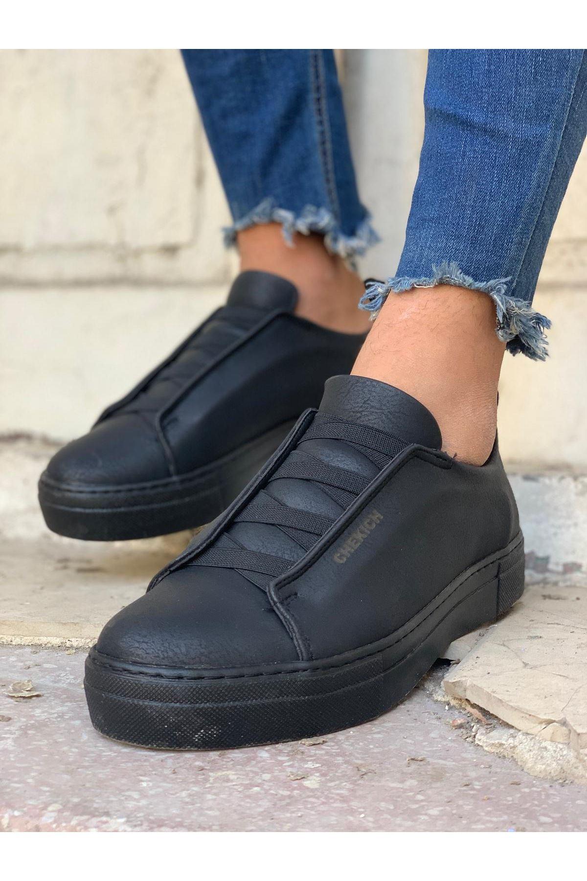 Chekich CH013 ST  Erkek Ayakkabı SİYAH