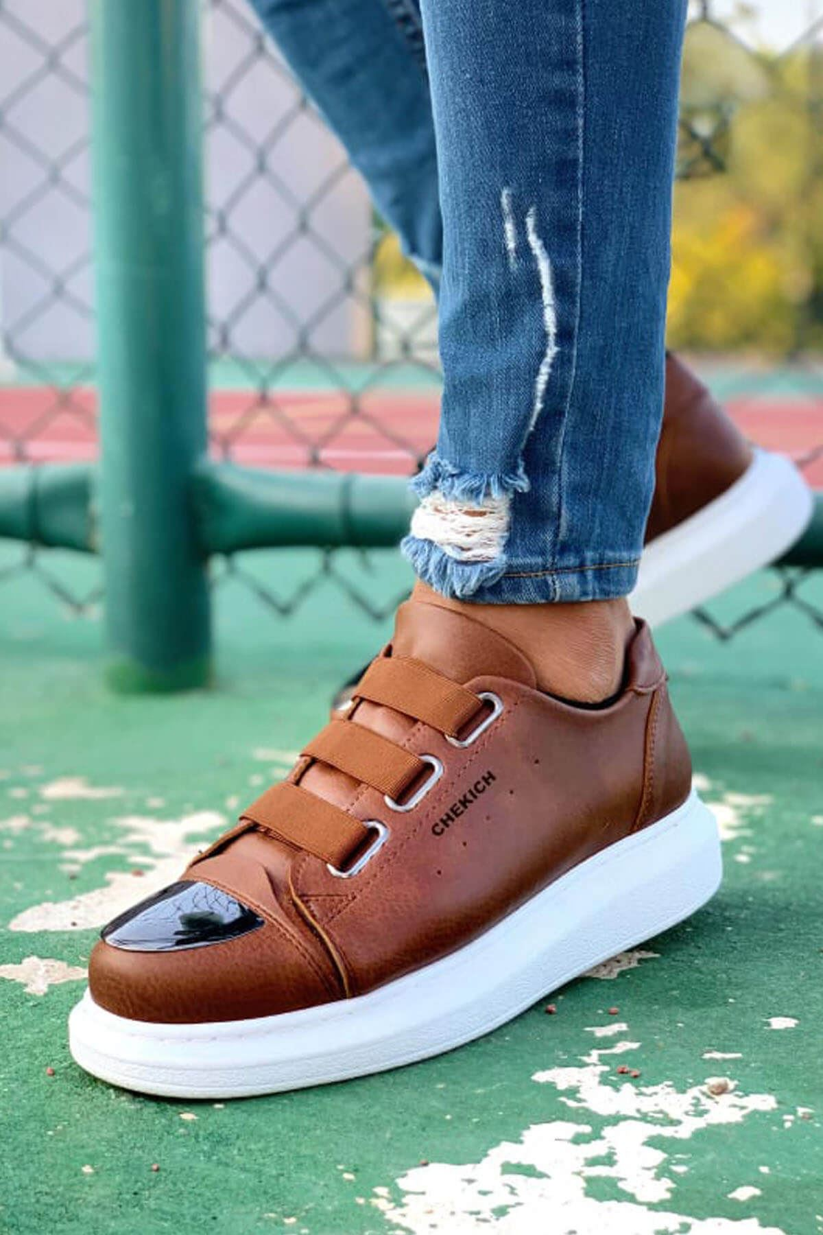 Chekich CH251 BT Erkek Ayakkabı TABA