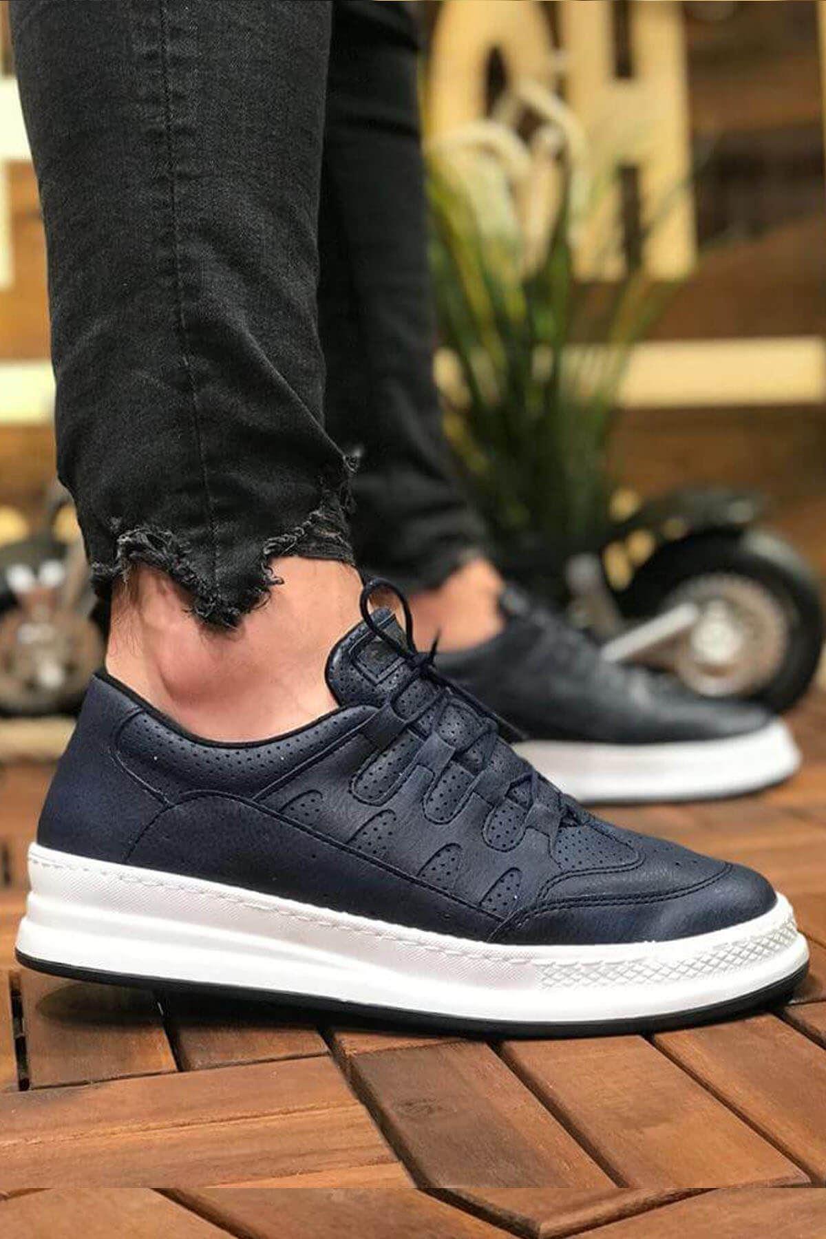 Chekich CH040 BT Erkek Ayakkabı LACİVERT