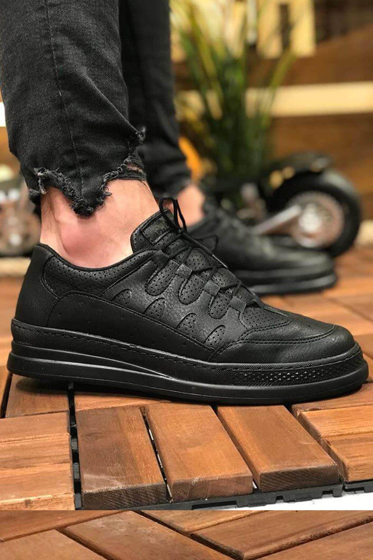 Chekich CH040 ST Erkek Ayakkabı SİYAH