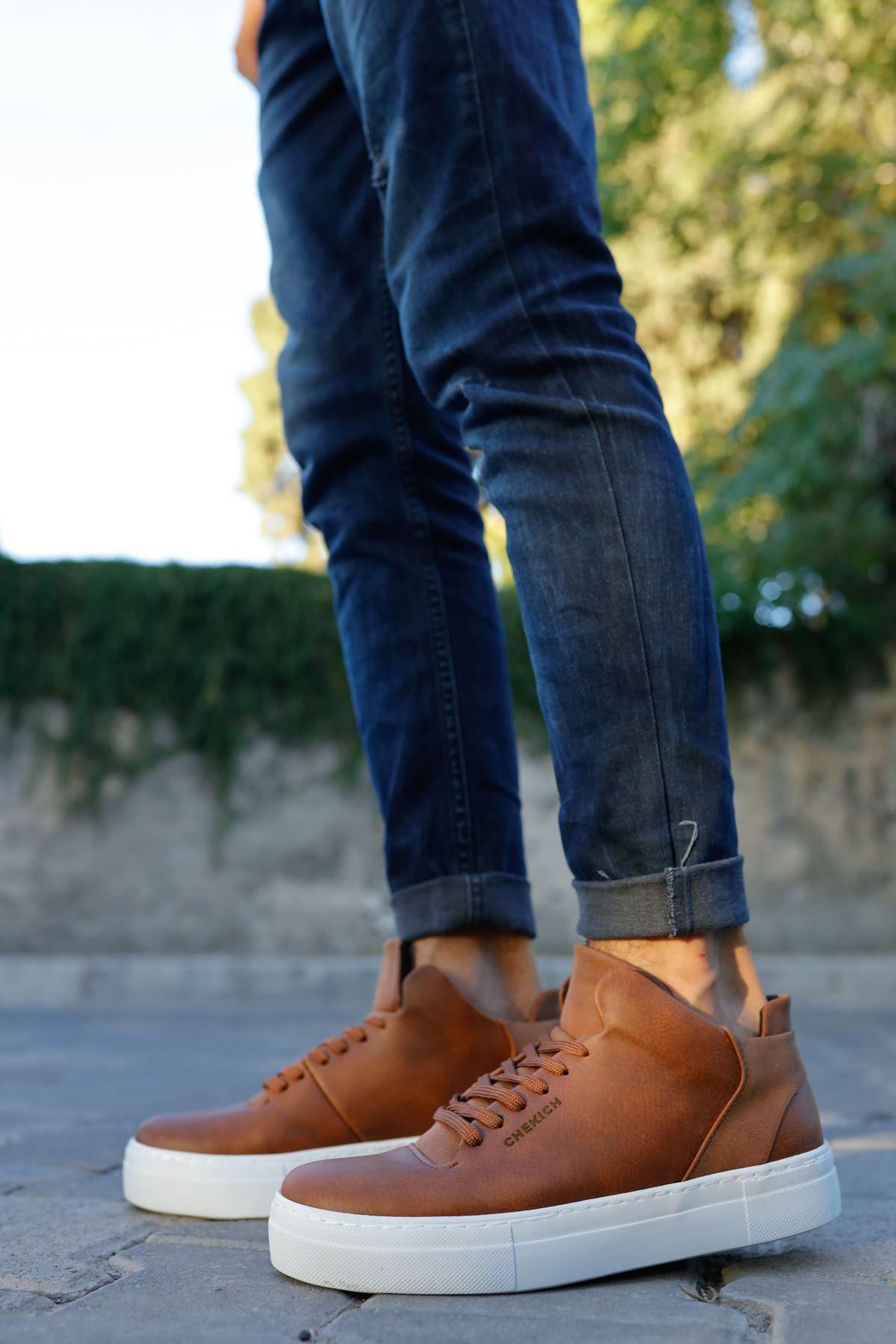 Chekich CH004 BT Erkek Ayakkabı TABA