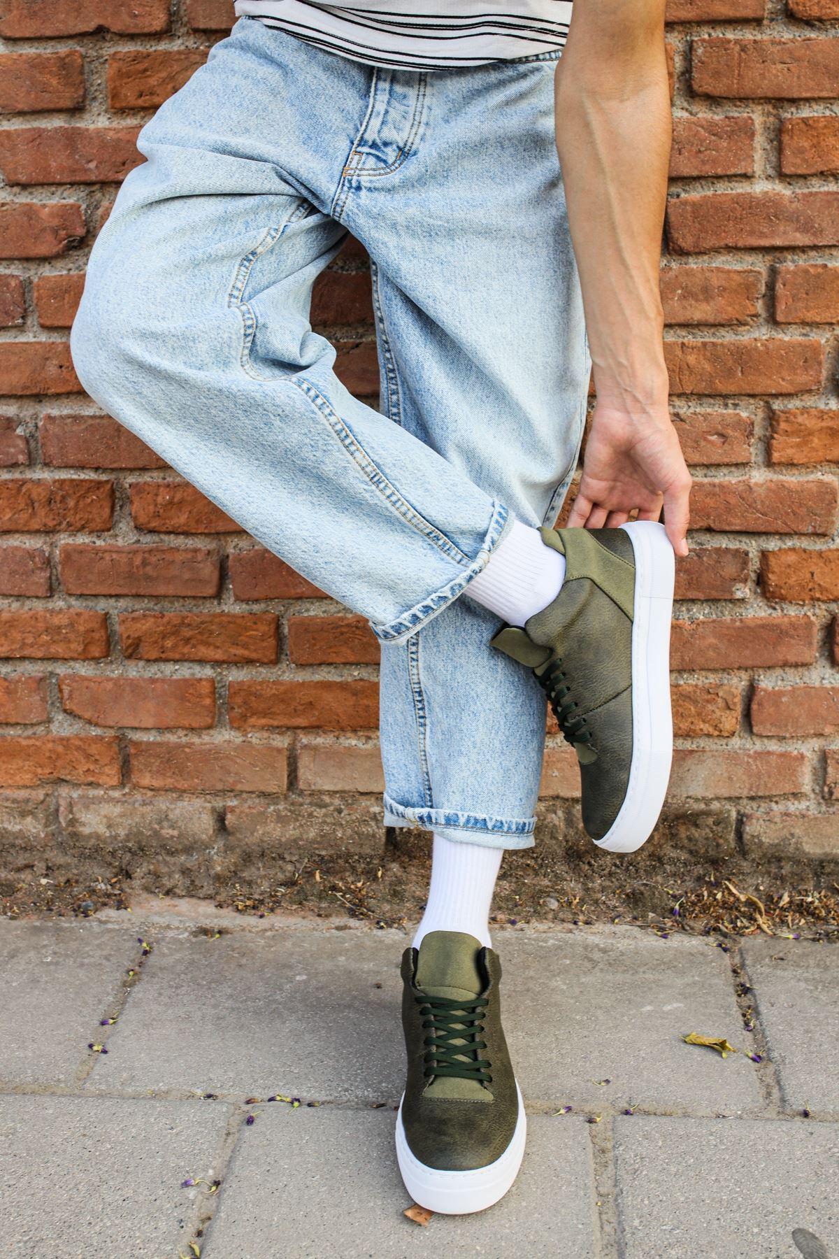Chekich CH004 BT Erkek Ayakkabı HAKİ