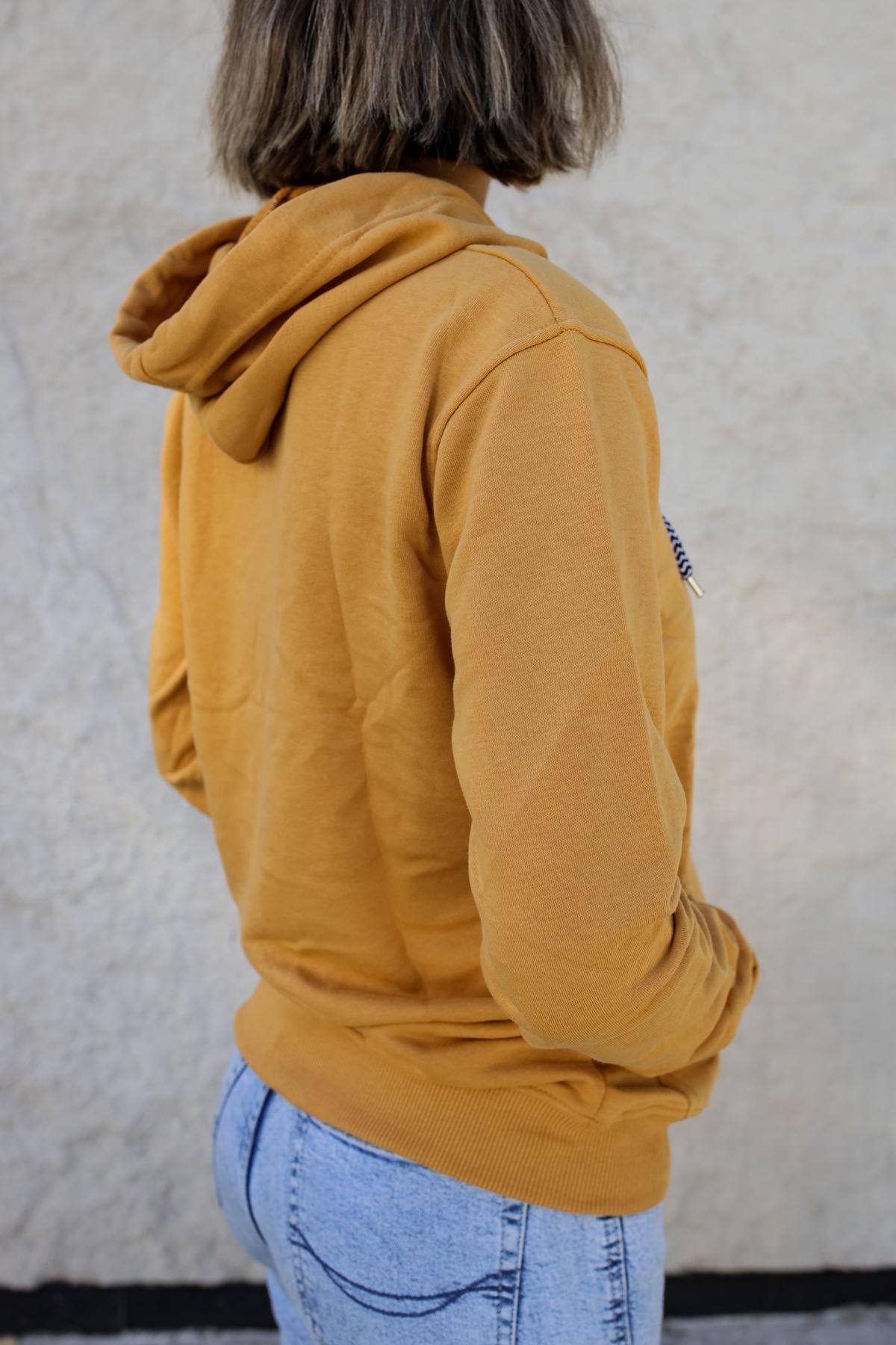 Kapüşonlu Kadın Sweatshirt HARDAL