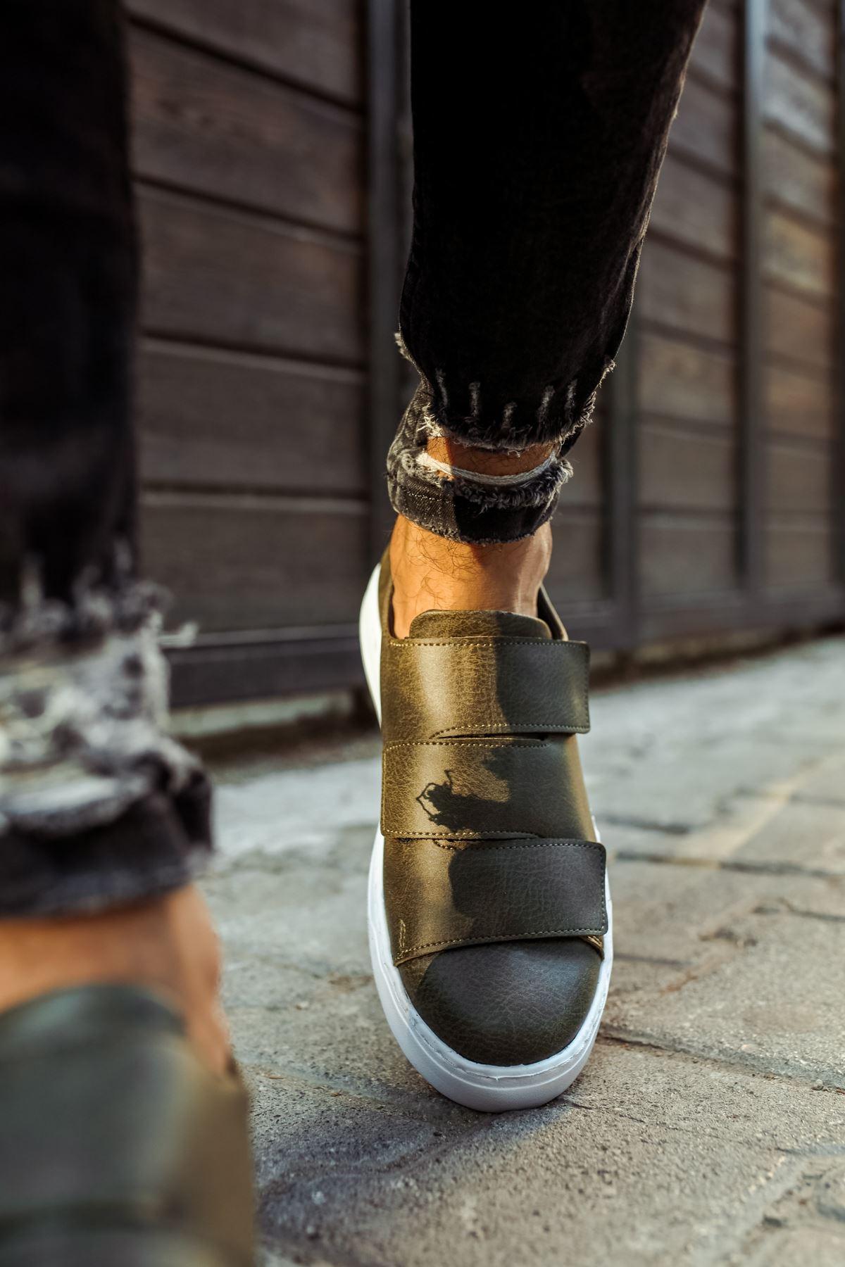 Chekich CH007 BT  Erkek Ayakkabı HAKİ