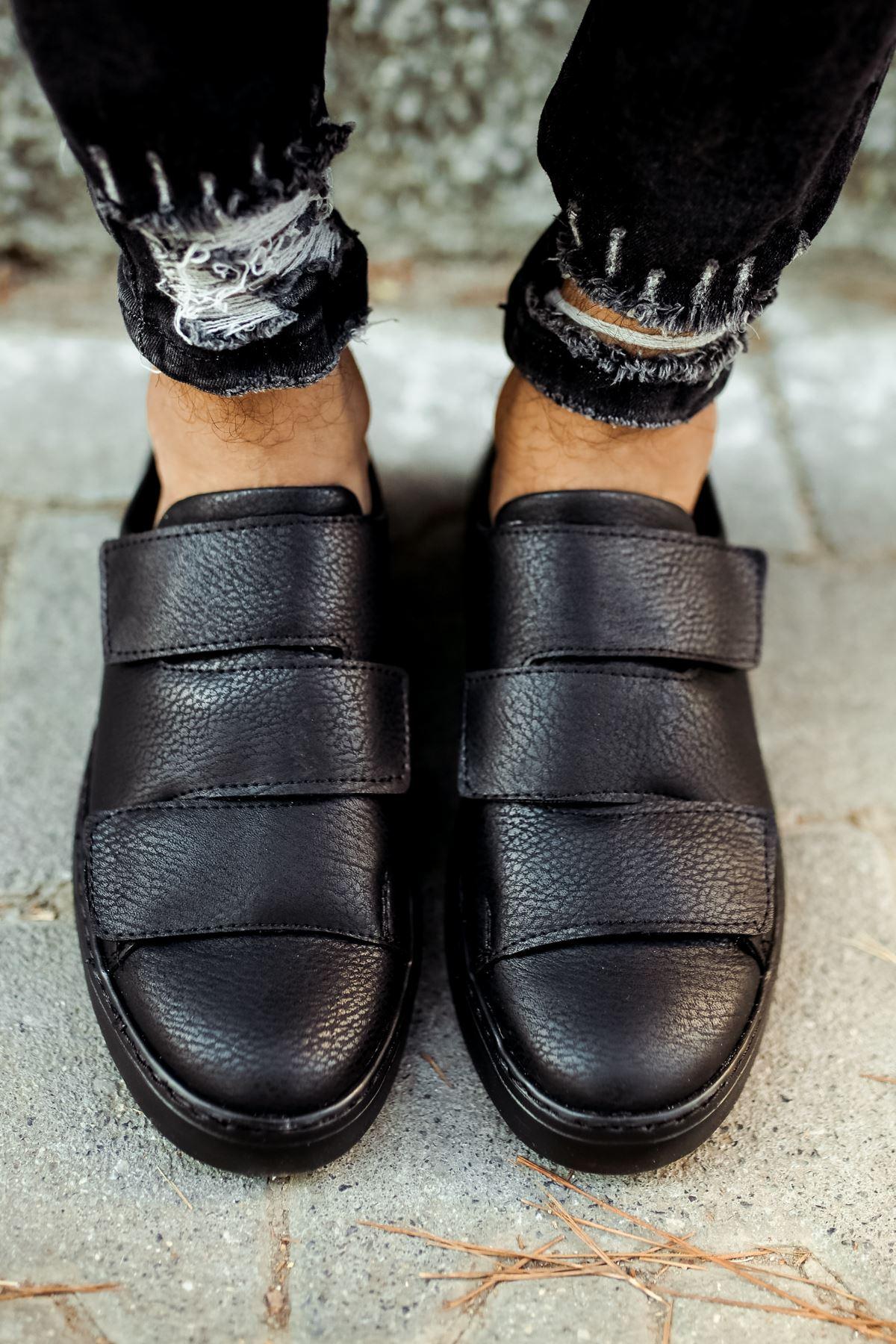 Chekich CH007 ST Erkek Ayakkabı SIYAH