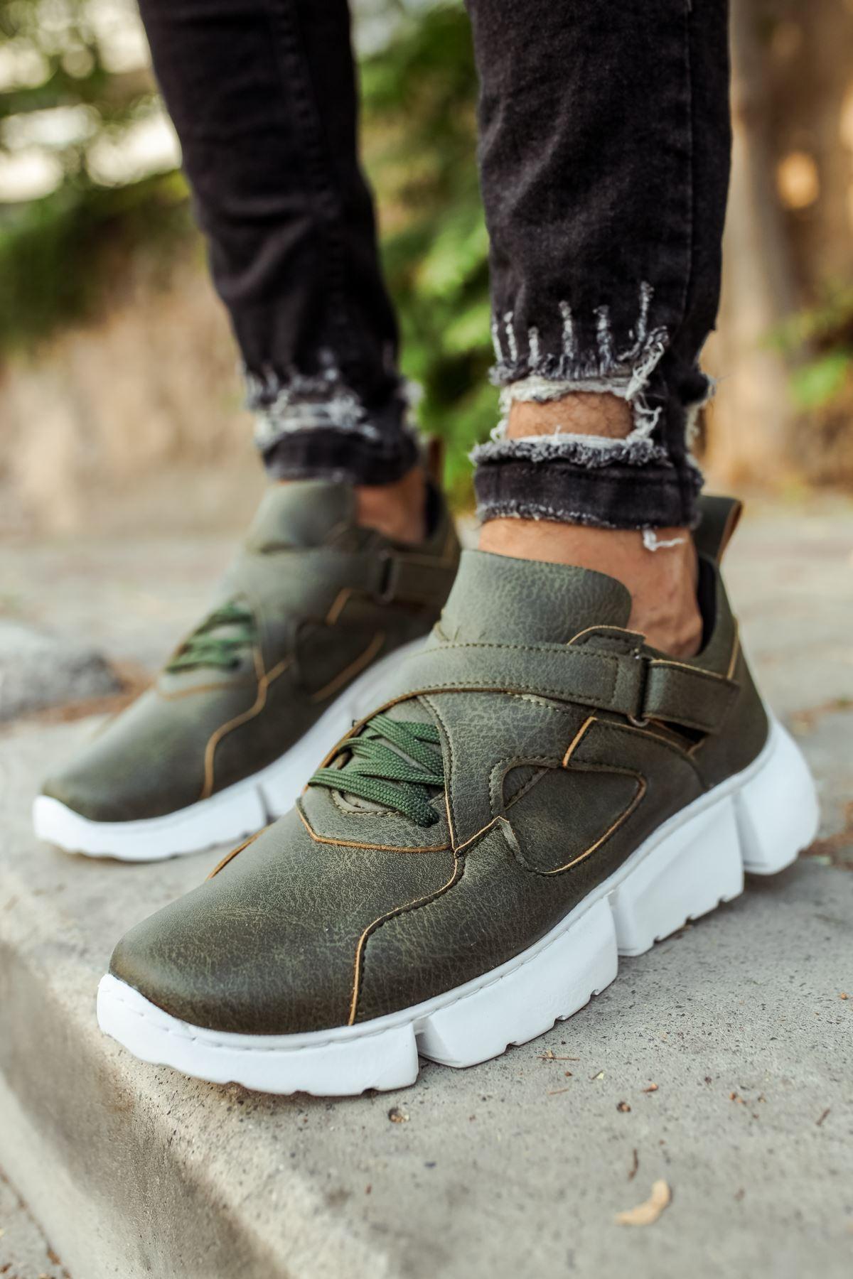 Chekich CH071 BT Erkek Ayakkabı HAKİ