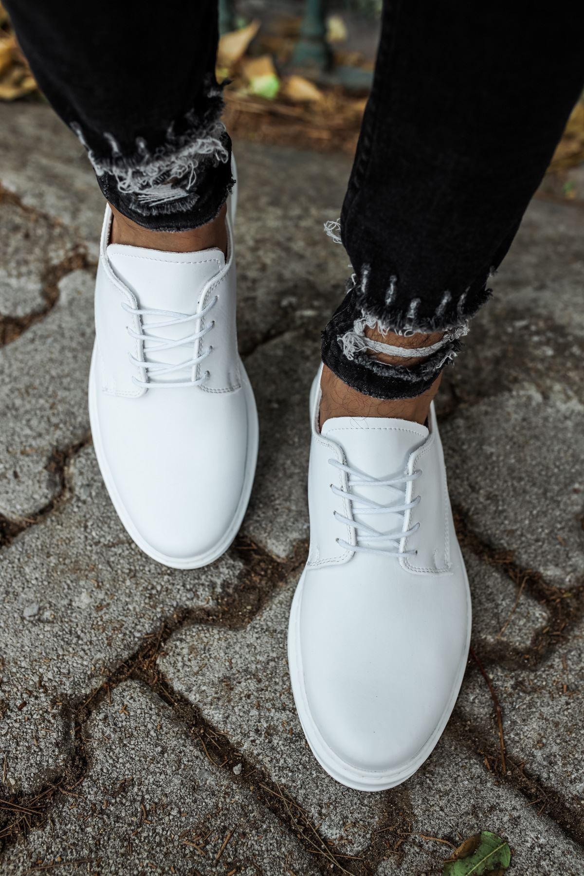 Chekich CH003 BT Erkek Ayakkabı BEYAZ