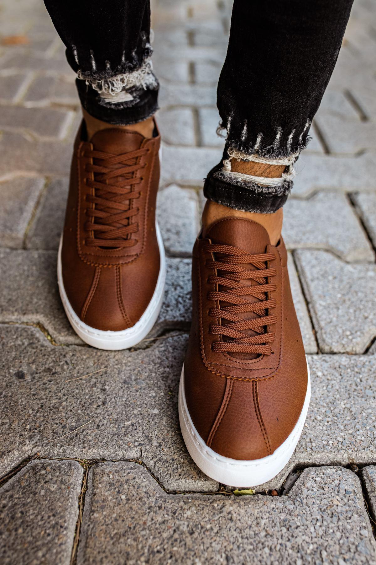 Chekich CH063 BT Erkek Ayakkabı TABA