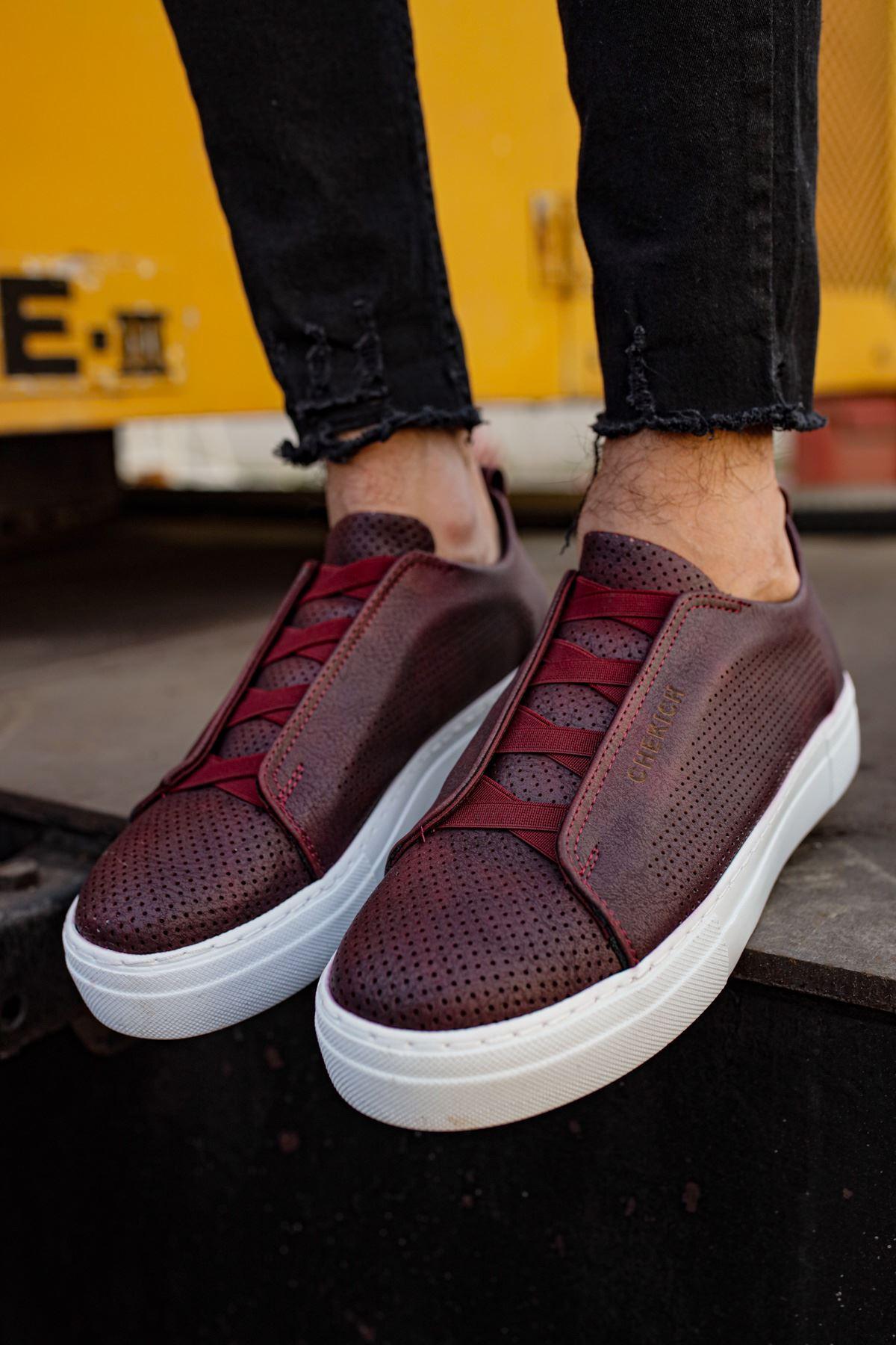 Chekich CH011 BT  Erkek Ayakkabı BORDO