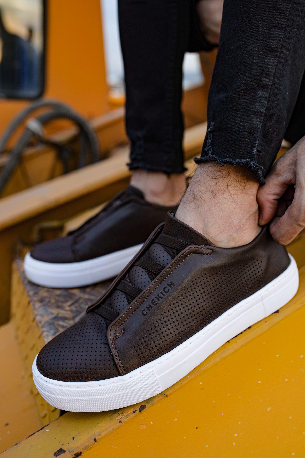 Chekich CH011 BT  Erkek Ayakkabı KAHVE