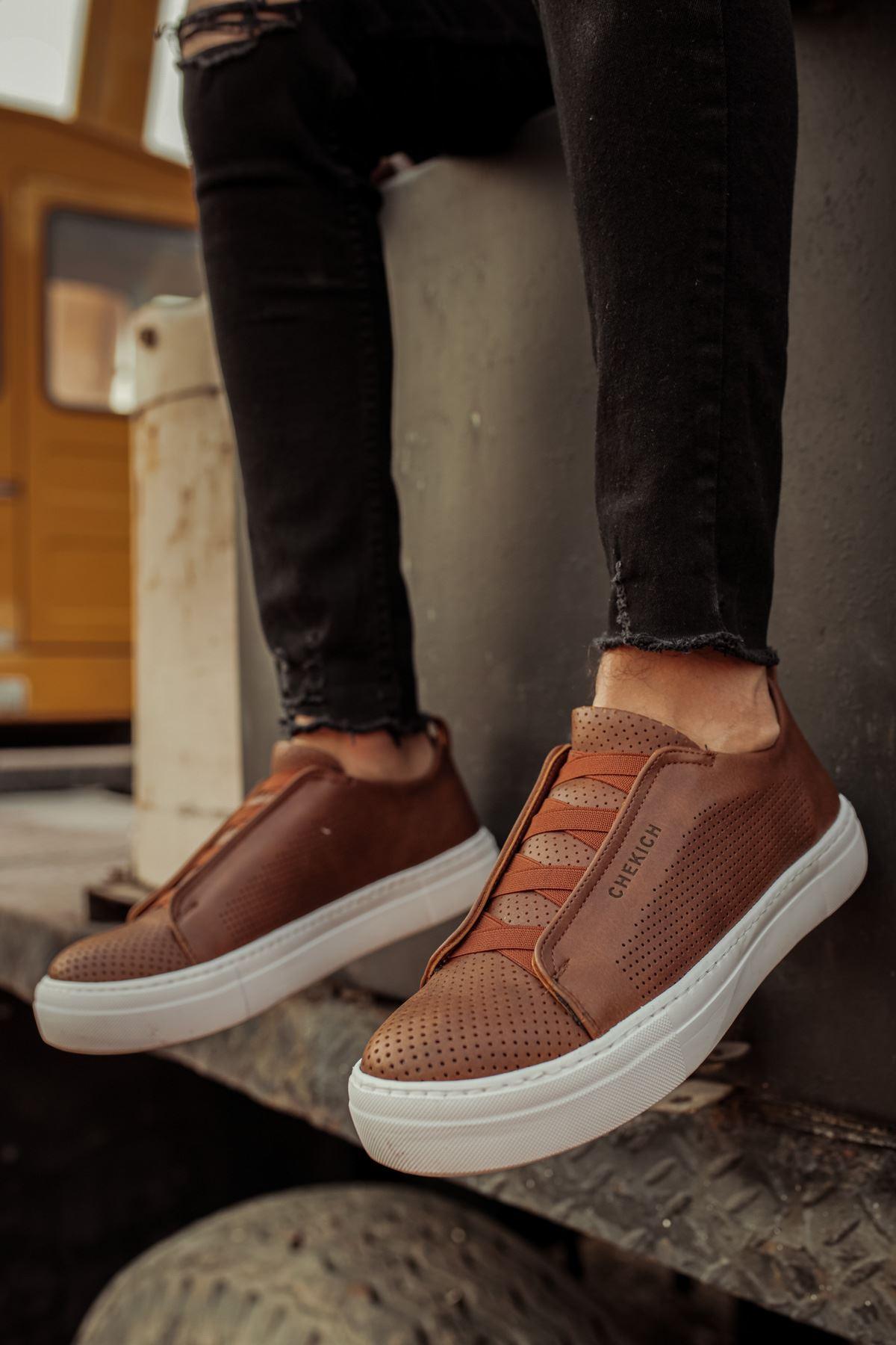 Chekich CH011 BT  Erkek Ayakkabı TABA