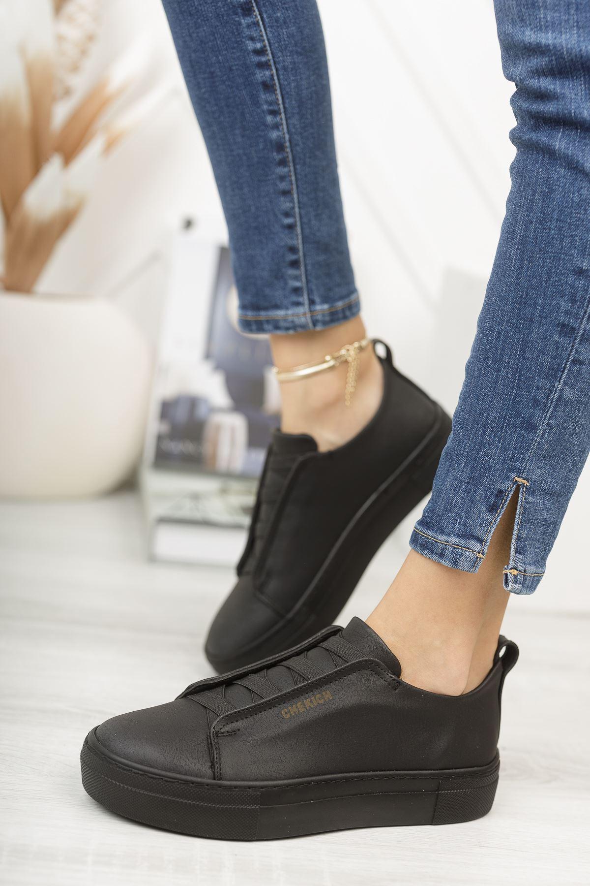 Chekich CH013 ST Kadın Ayakkabı SIYAH