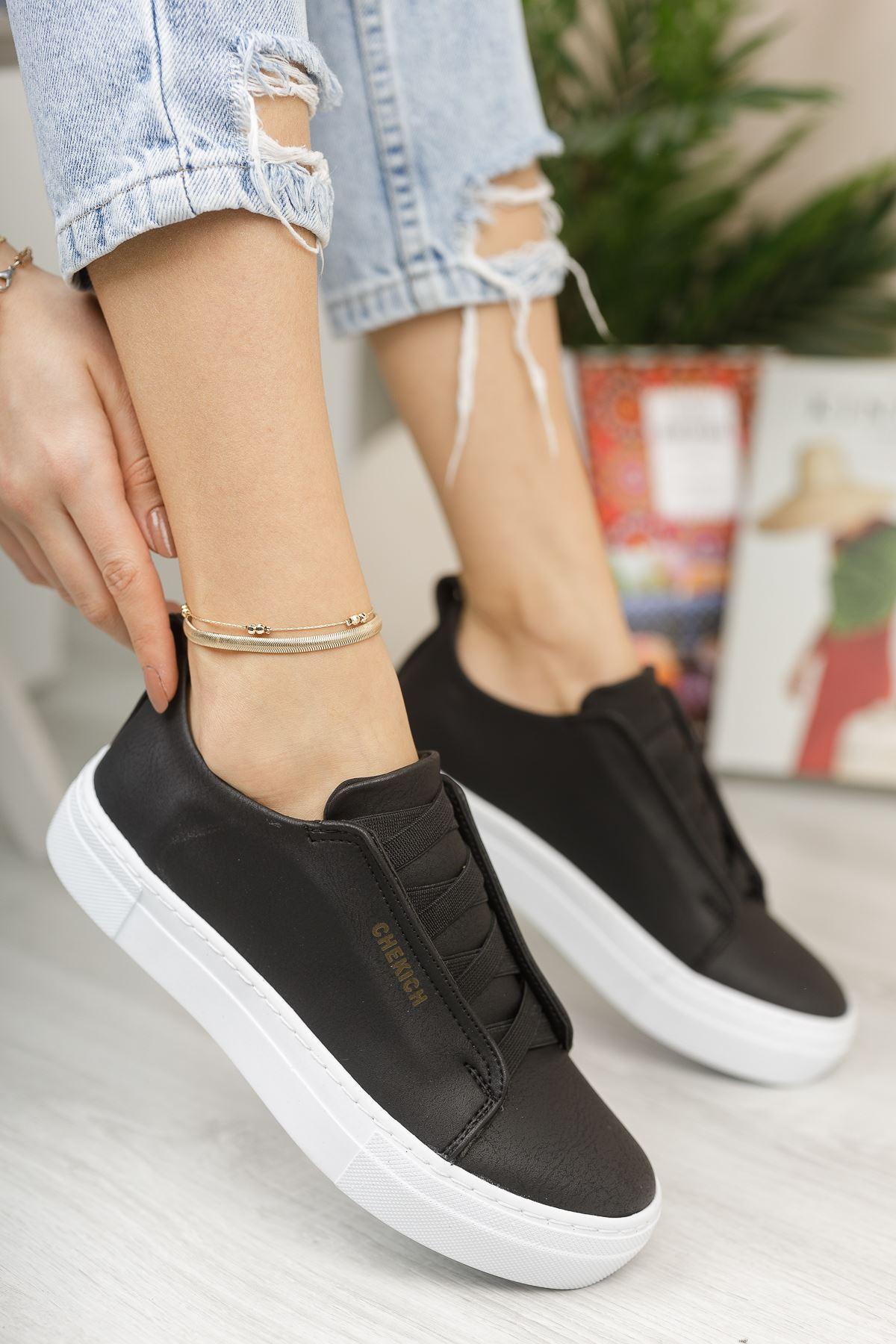 Chekich CH013 BT Kadın Ayakkabı SIYAH