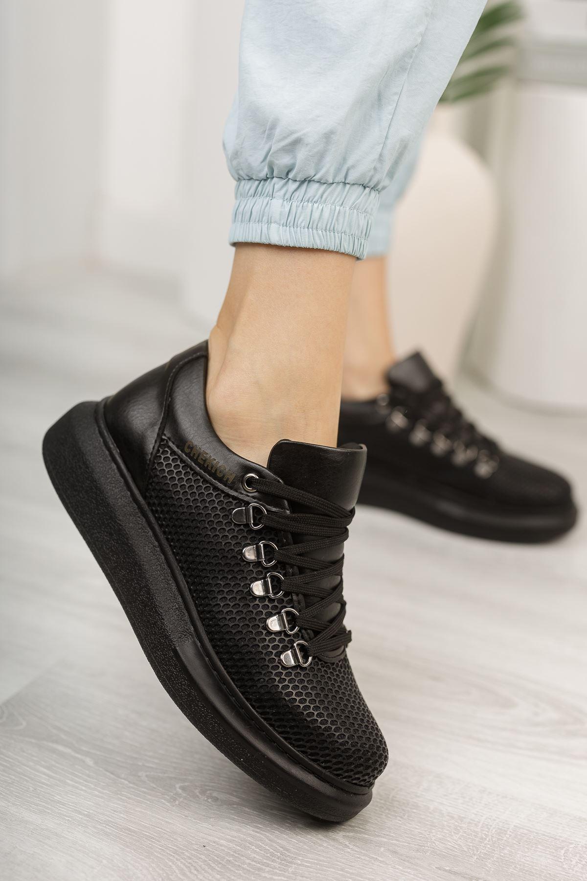 Chekich CH021 YST Kadın Ayakkabı SIYAH