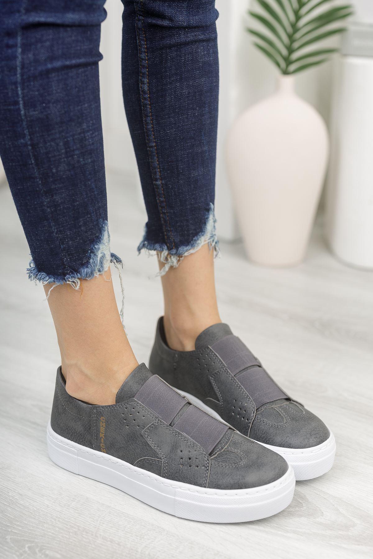 Chekich CH033 BT Kadın Ayakkabı ANTRASİT