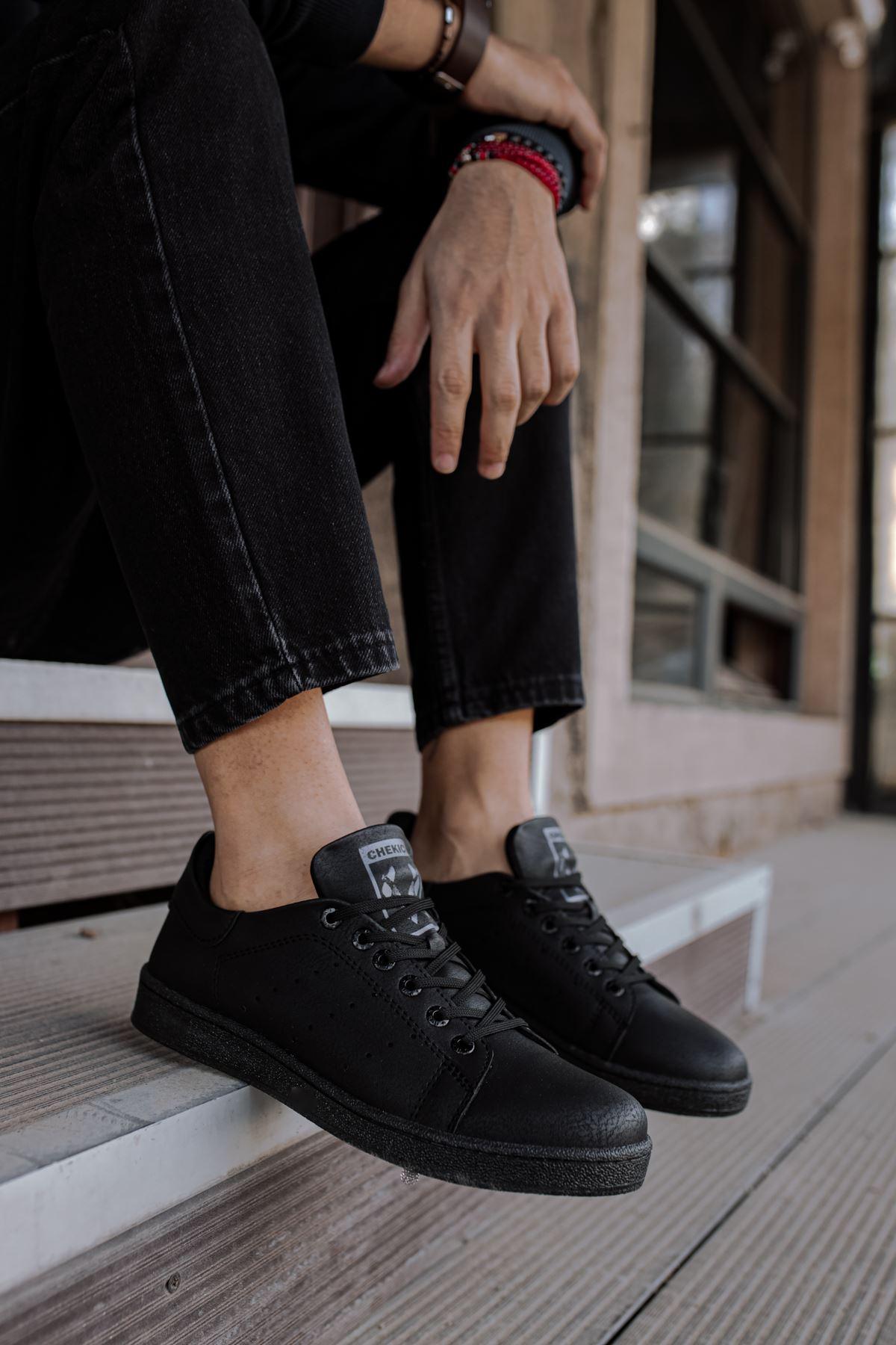 Chekich CH977 ST Erkek Ayakkabı SIYAH