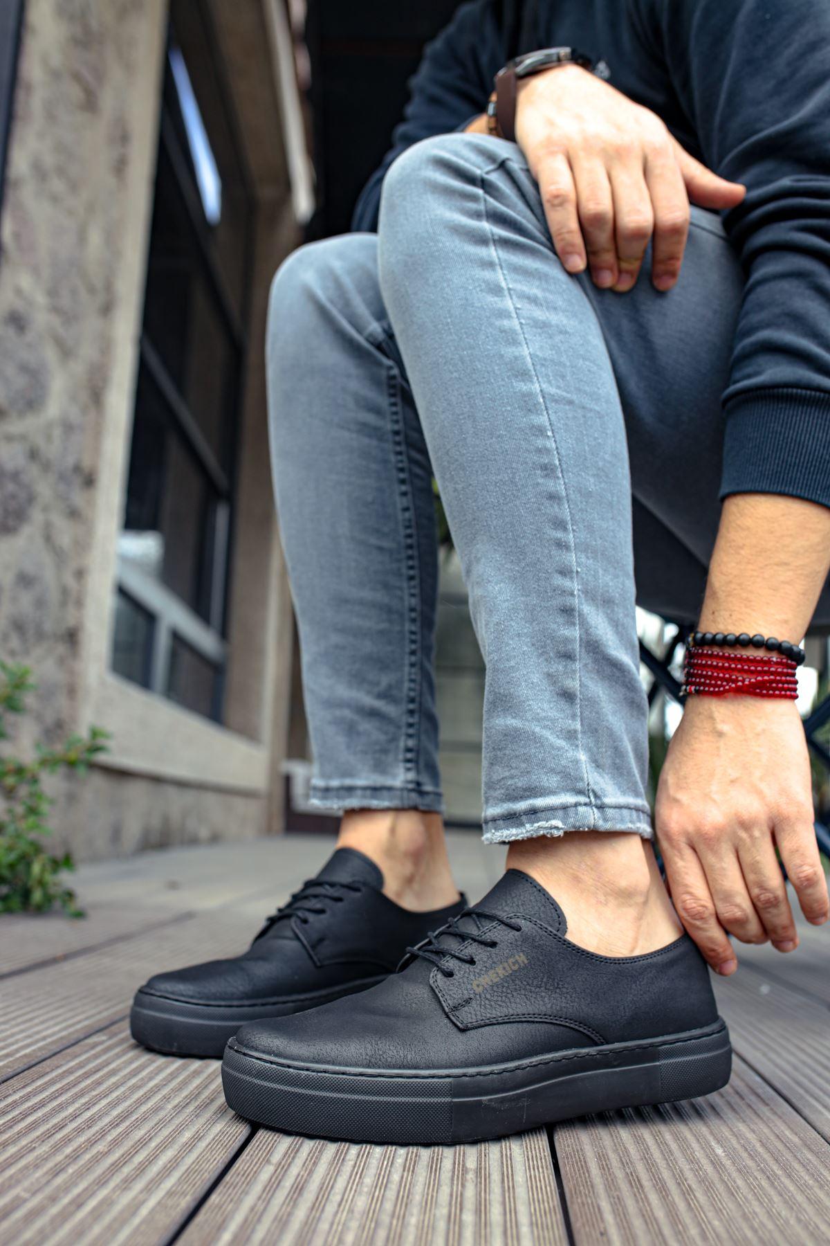 Chekich CH005 ST Erkek Ayakkabı SIYAH