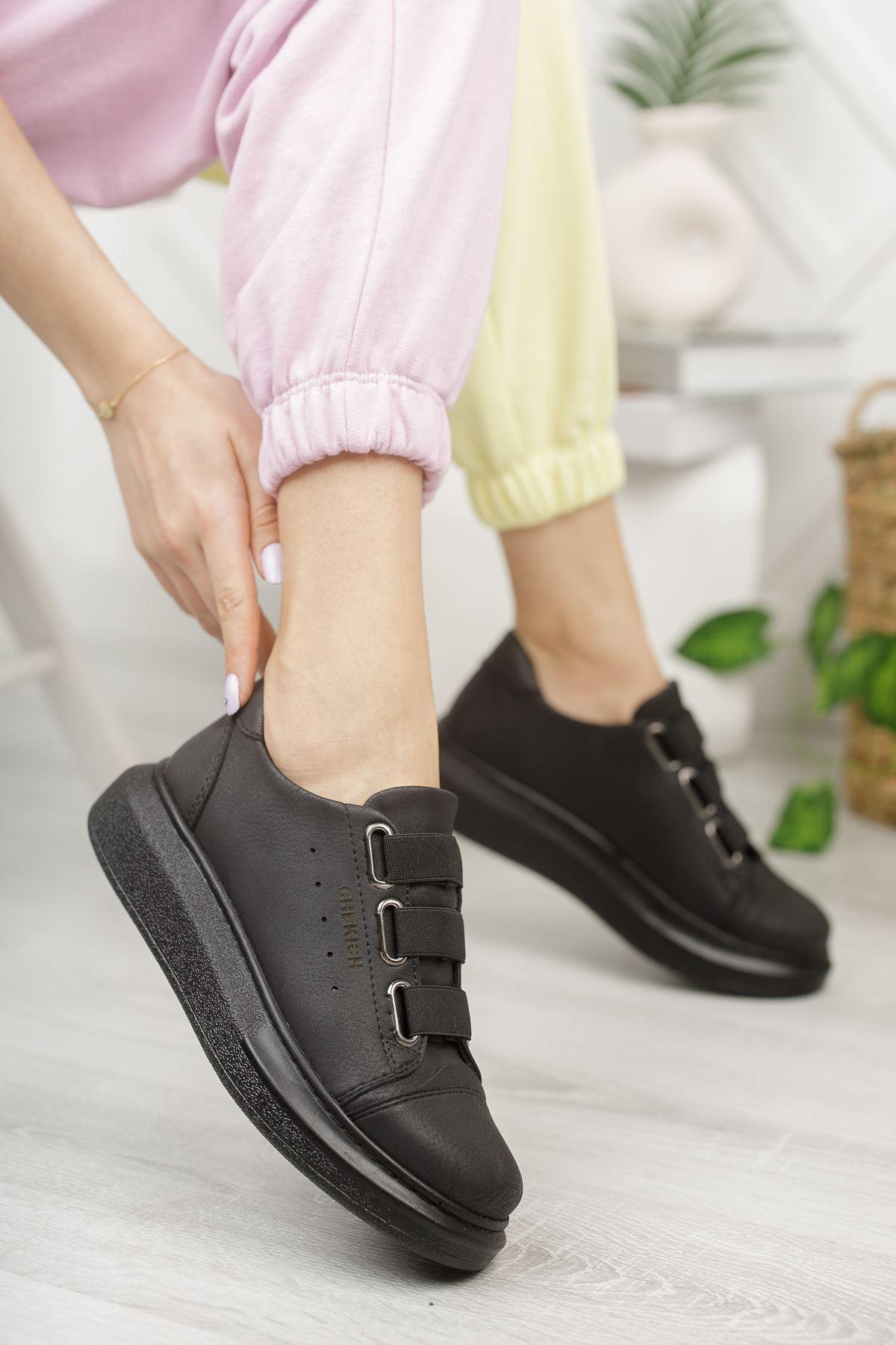 Chekich CH253 ST Kadın Ayakkabı SIYAH