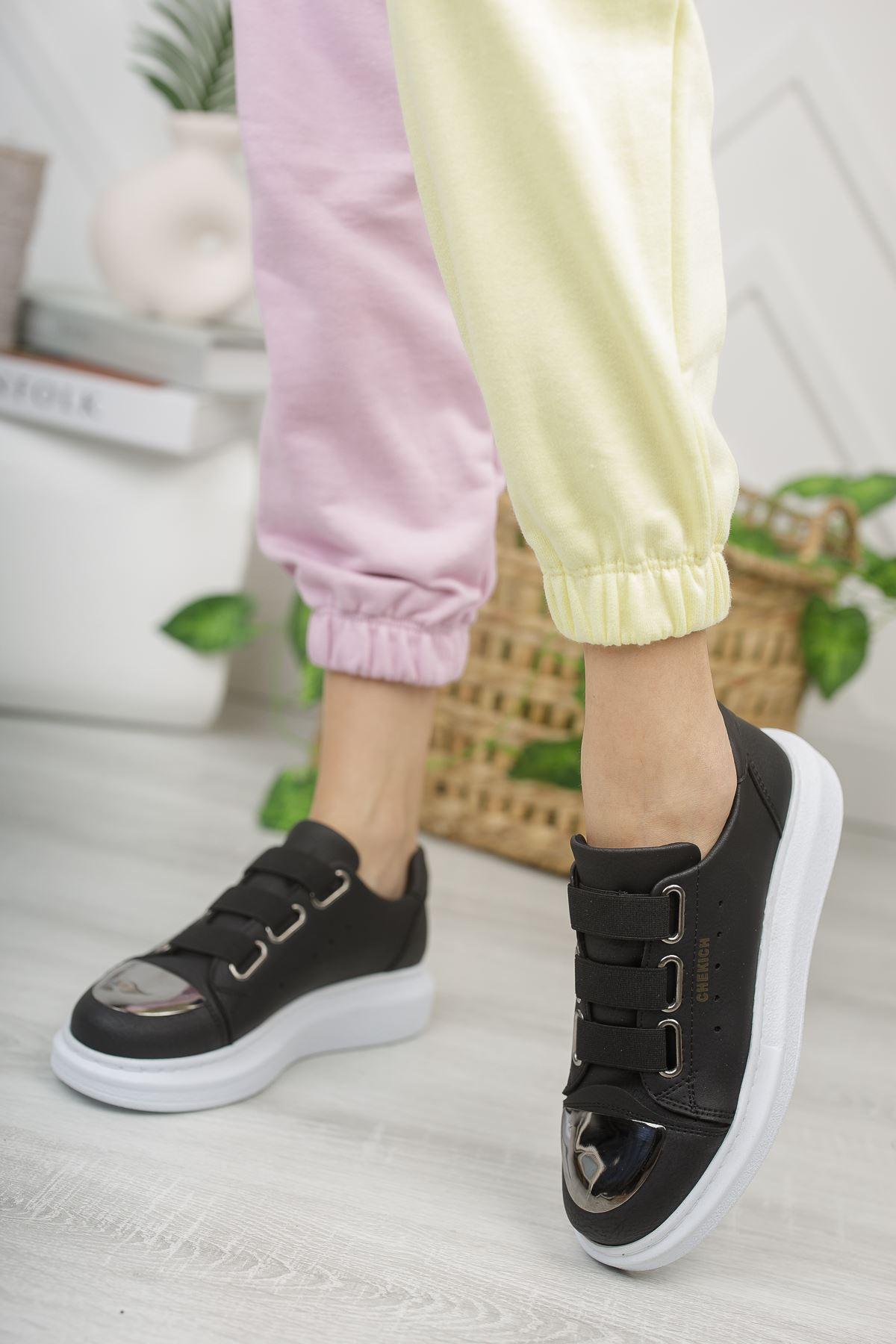 Chekich CH251 BT Kadın Ayakkabı SIYAH