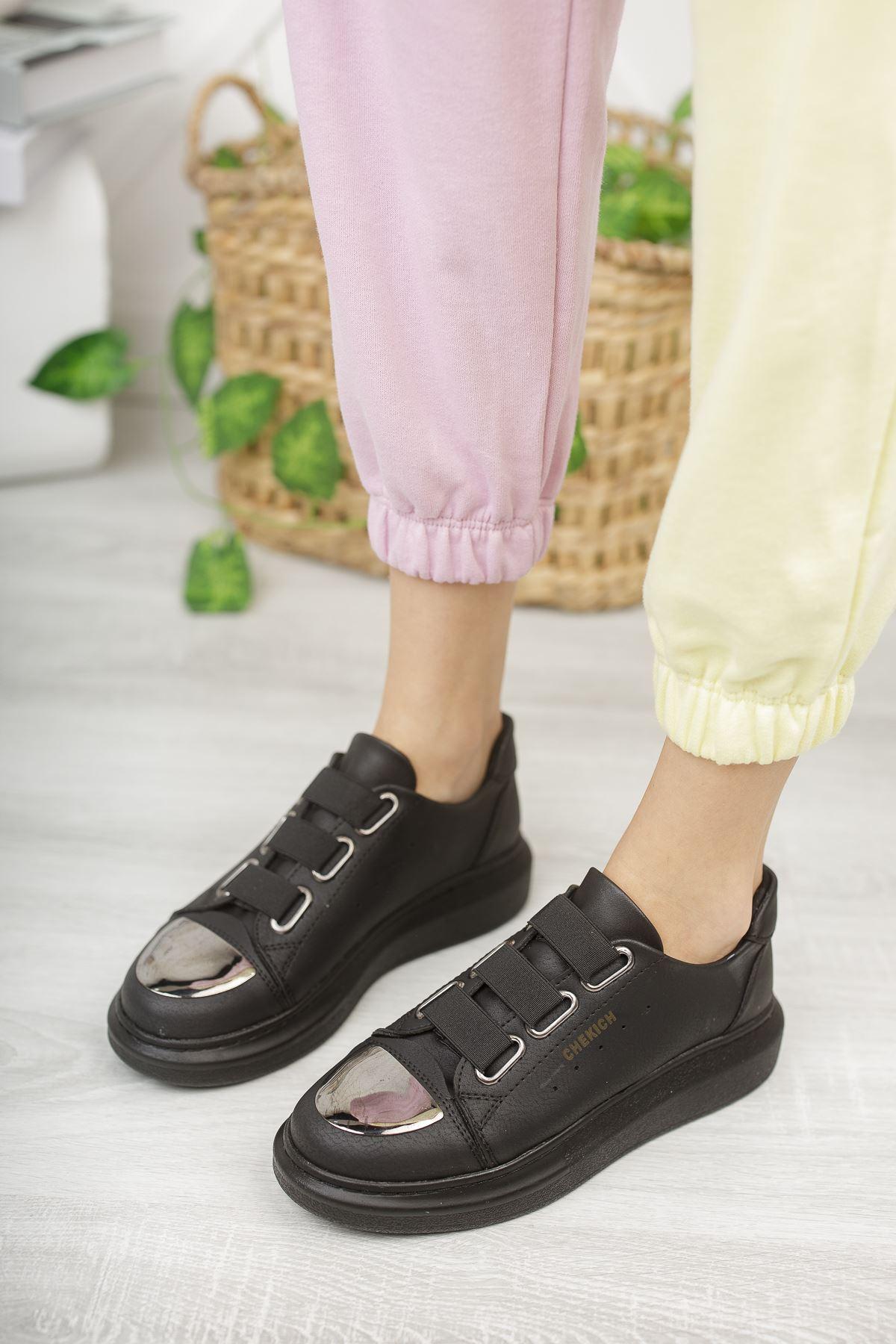 Chekich CH251 ST Kadın Ayakkabı SIYAH