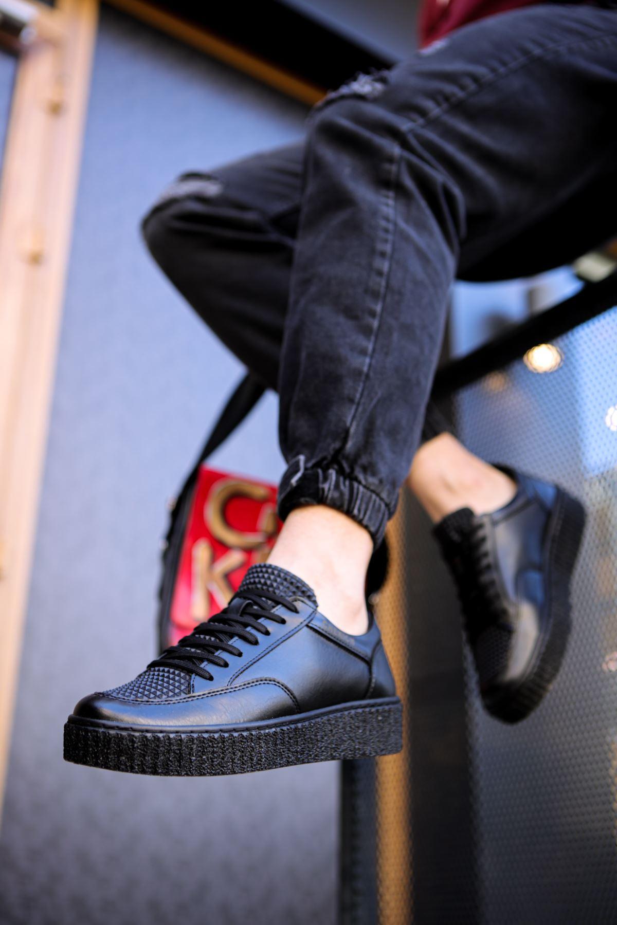 Chekich CH017 ST Erkek Ayakkabı SIYAH