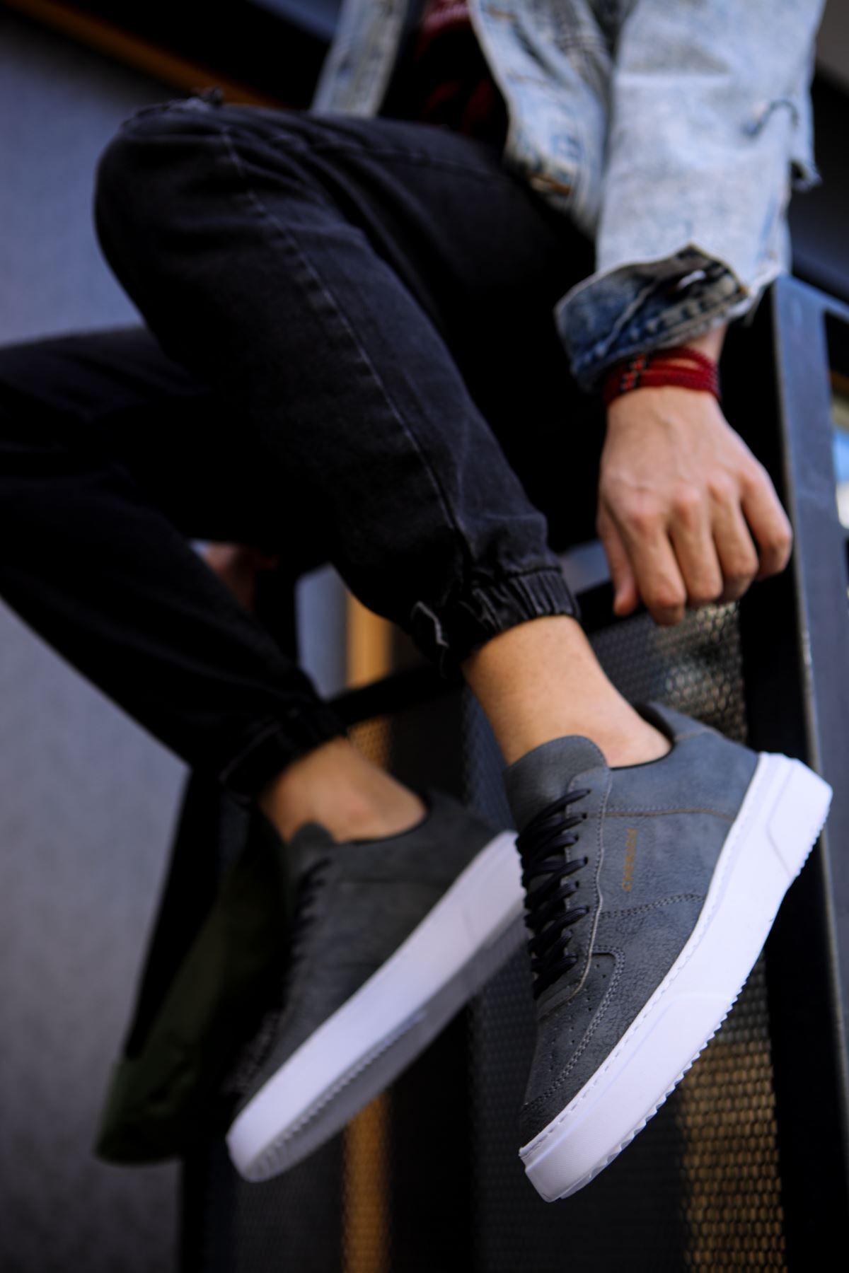 Chekich CH087 BT Erkek Ayakkabı ANTRASİT / ANTRASİT