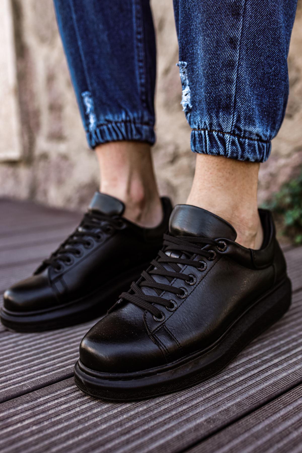 Chekich CH257 ST Erkek Ayakkabı SIYAH