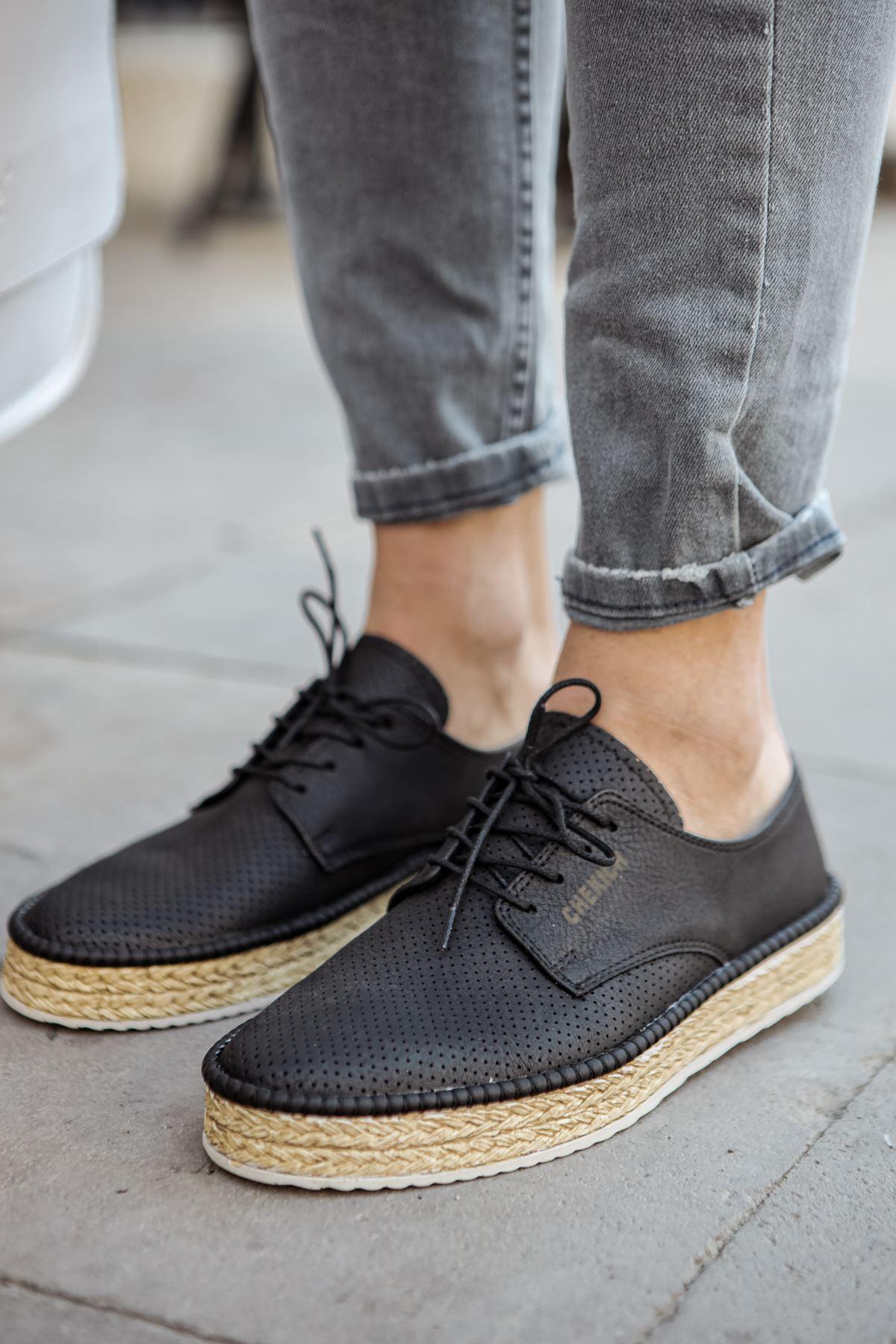 Chekich CH117 BT Erkek Ayakkabı SIYAH