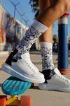 Chekich CH256 BT Kadın Ayakkabı BEYAZ / SİYAH