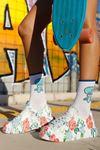 Chekich CH255W BT Kadın Ayakkabı ÇİÇEKLİ